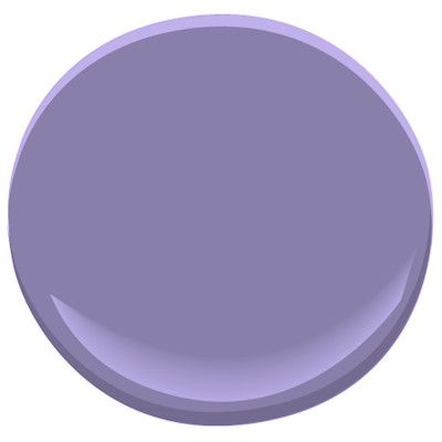 Benjamin Moore's Purple Heart 1406//another delightful paint color selected for you by jannino painting + design 239-233-5404 servicing the finest waterfront homes