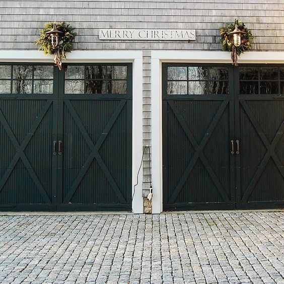 Who knew garage doors could be so beautiful?!