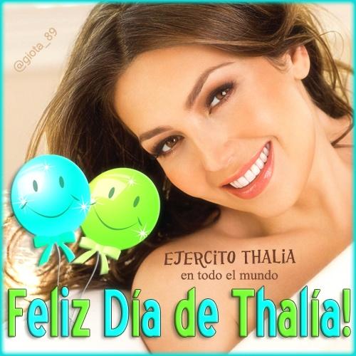 #DiaDeThalia @Lady T twitter avatar2 #EjercitoThalia mission - for boys xD