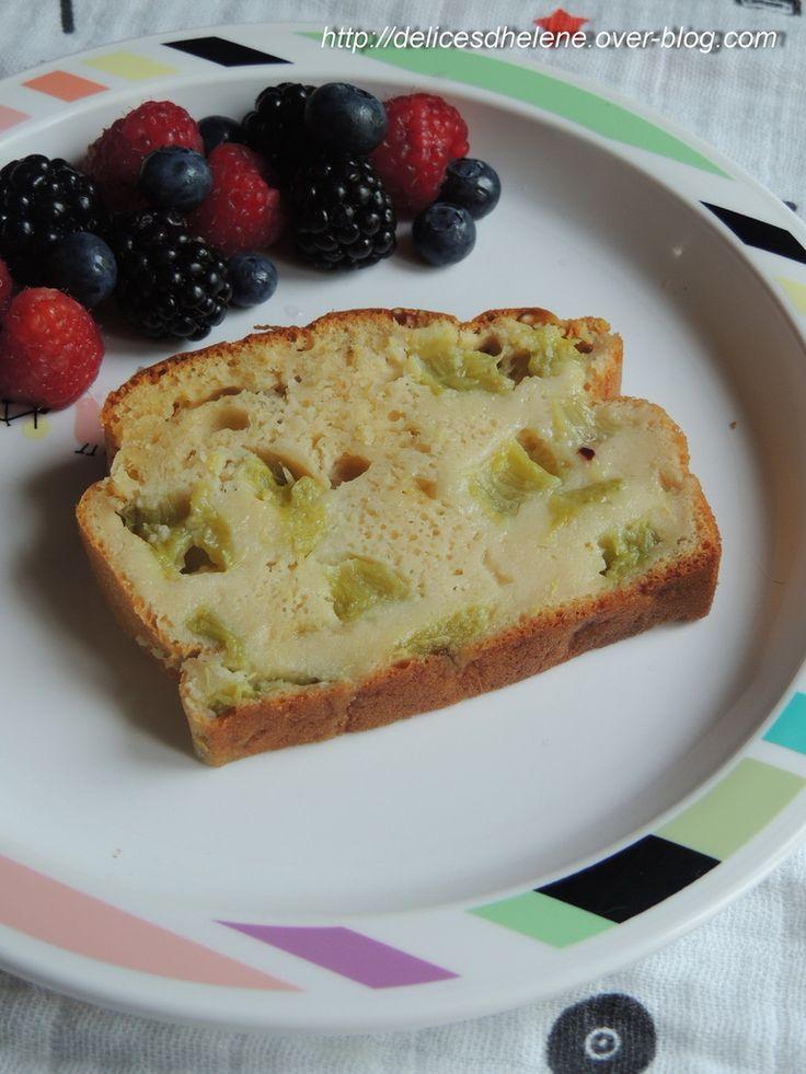 Cake à la rhubarbe (4sp)