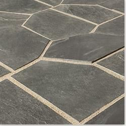 Builddirect Roterra Slate Tile 3 29 Sq Ft Black Colourway Meshed Back Patterns