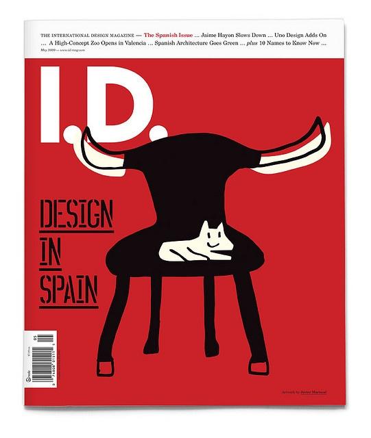 I.D. Magazine — May 2009 Illustration by Javier Mariscal