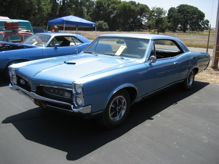 A 1967 GTO at the Eagles Nest Airport Show and Shine on May 31st, 2014