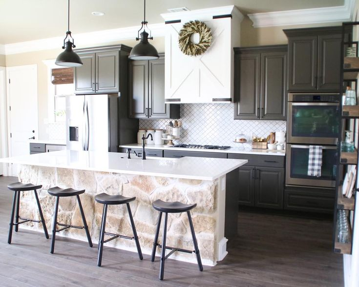 1000+ images about Kitchen on Pinterest  Black granite, White shaker