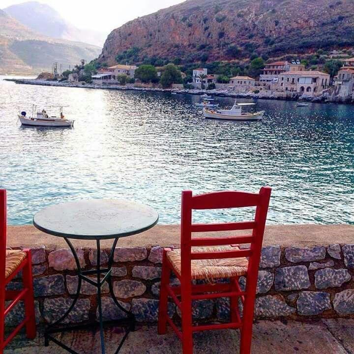 Limeni village, Mani, Peloponnese, Greece