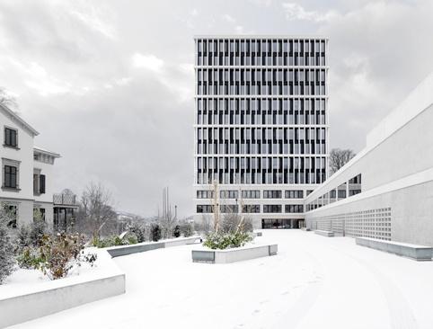 staufer hasler architekten: bundesverwaltungsgericht, st.gallen (2012)