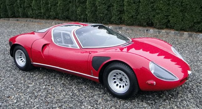 Extremely Rare 1968 Alfa Romeo Tipo 33 Stradale Updated Carscoops Classic Cars Alfa Romeo Classic Sports Cars