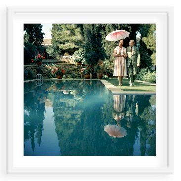 Check out this item at One Kings Lane! Slim Aarons, Greek Garden Grand Marshall