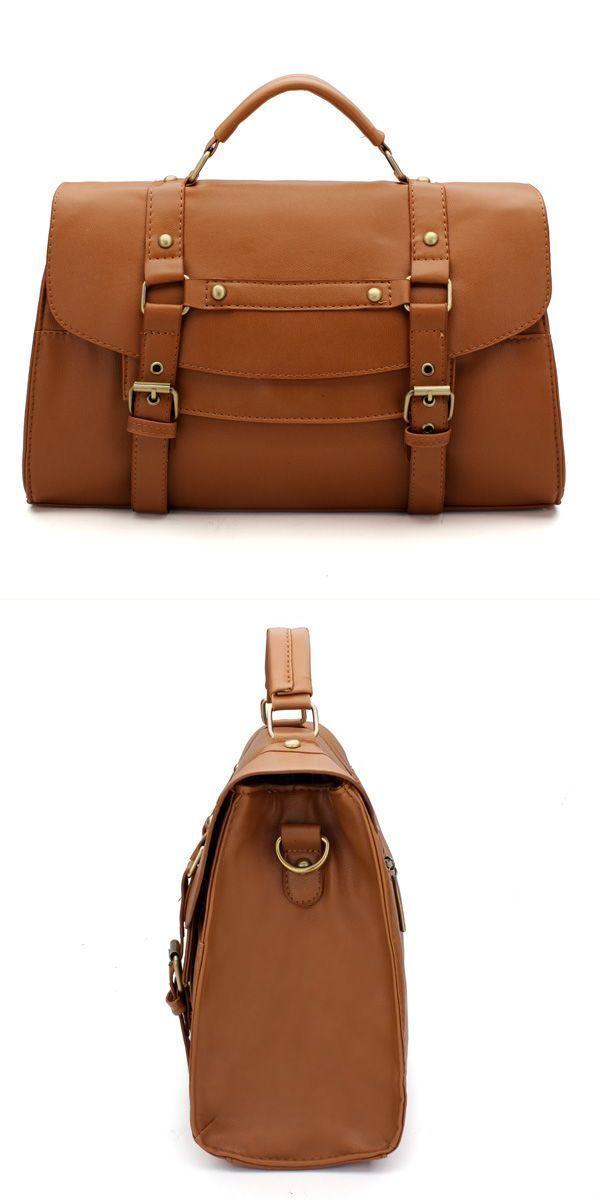 175002caa163 A replica handbags women#8217;s pu leather handbag messenger satchel  shoulder bag retro