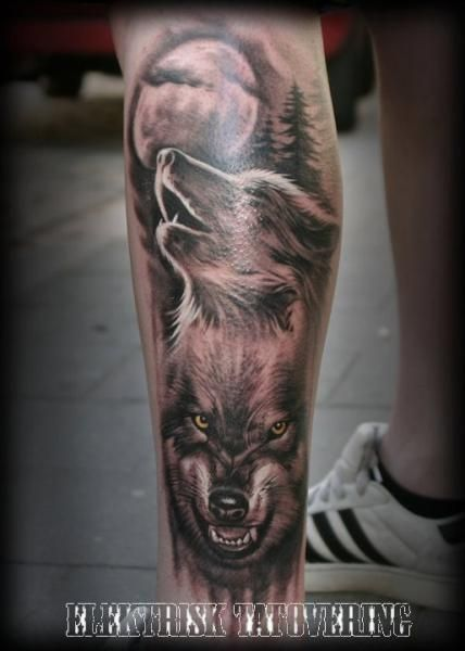 25 best realistic wolf tattoos images on pinterest wolves tattoo ideas and tattoo wolf. Black Bedroom Furniture Sets. Home Design Ideas