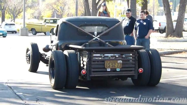 Ford Dually Diesel Rat Rod at Supercar Sunday