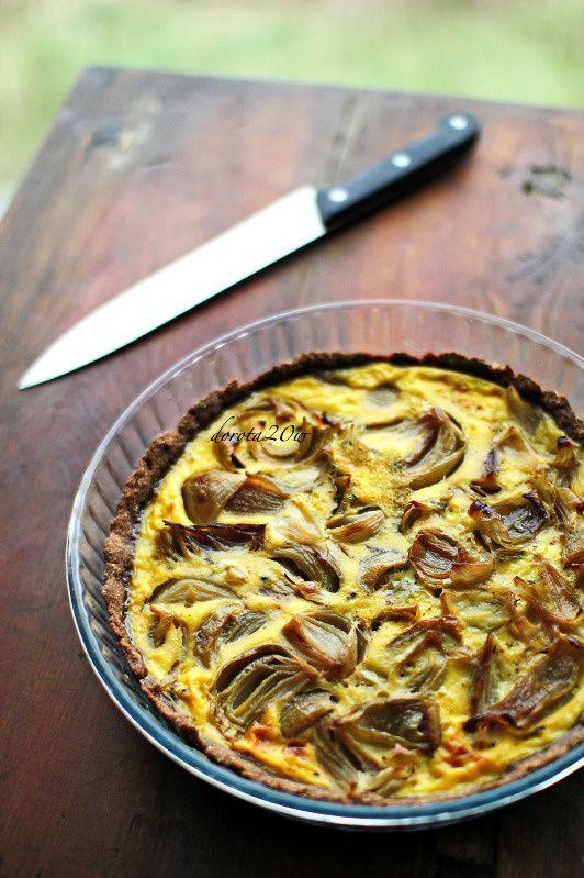 Cebulowa tarta - Onion tart