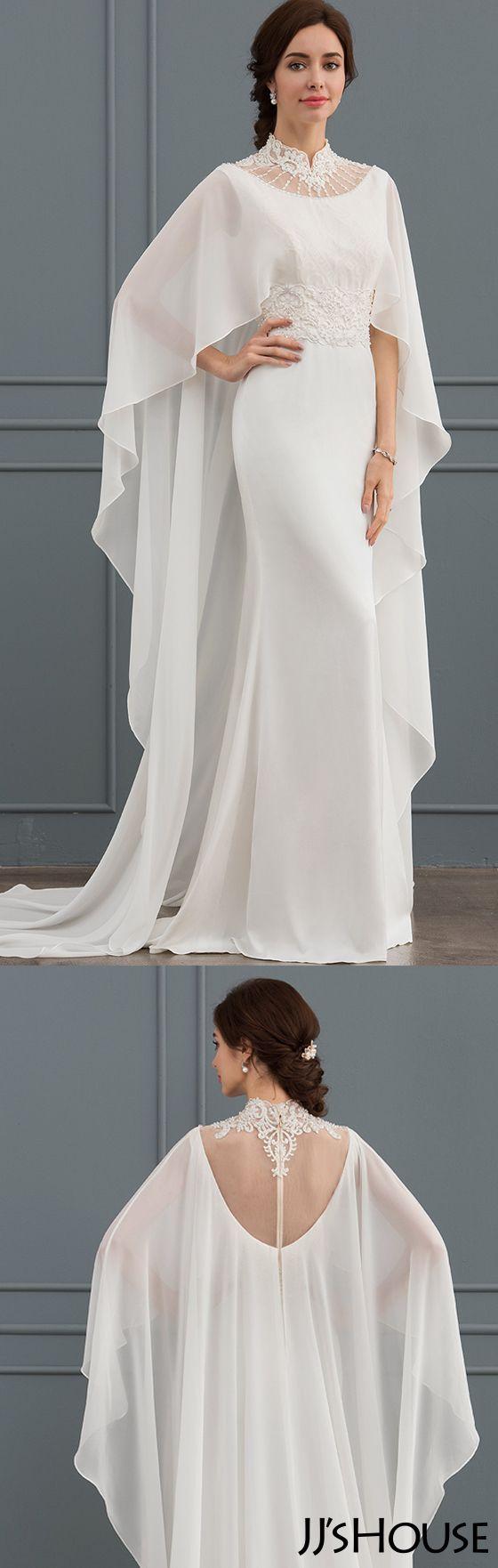 Amazing Wedding Dress With Beading Sequins #JJsHouse#Wedding