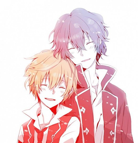 Pandora Hearts they belong together <3