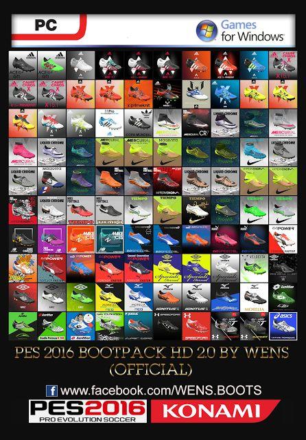 JUEGOS Y PROGRAMAS PC: PES 2016 HD bootpack 2.0 by WENS