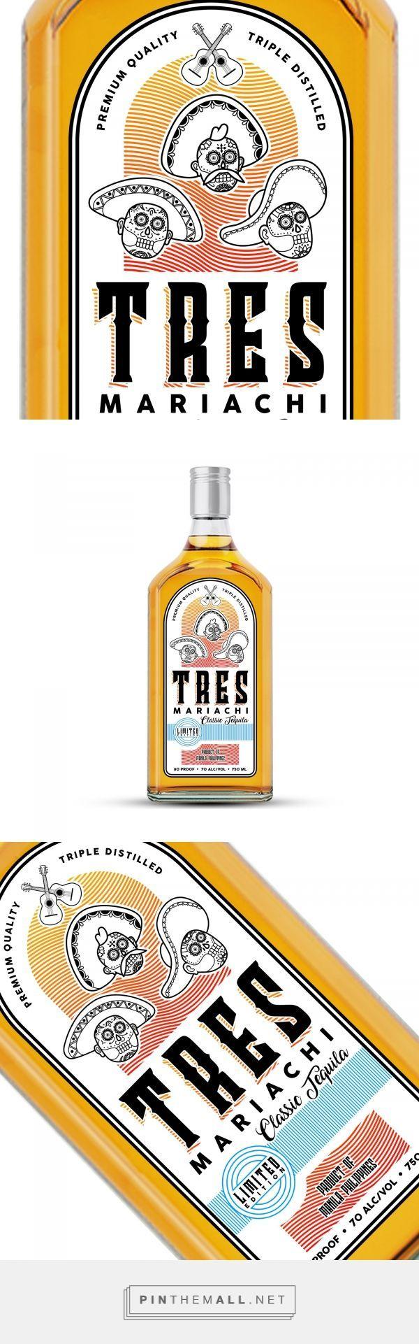 Tequila Packaging Bottle Label Design