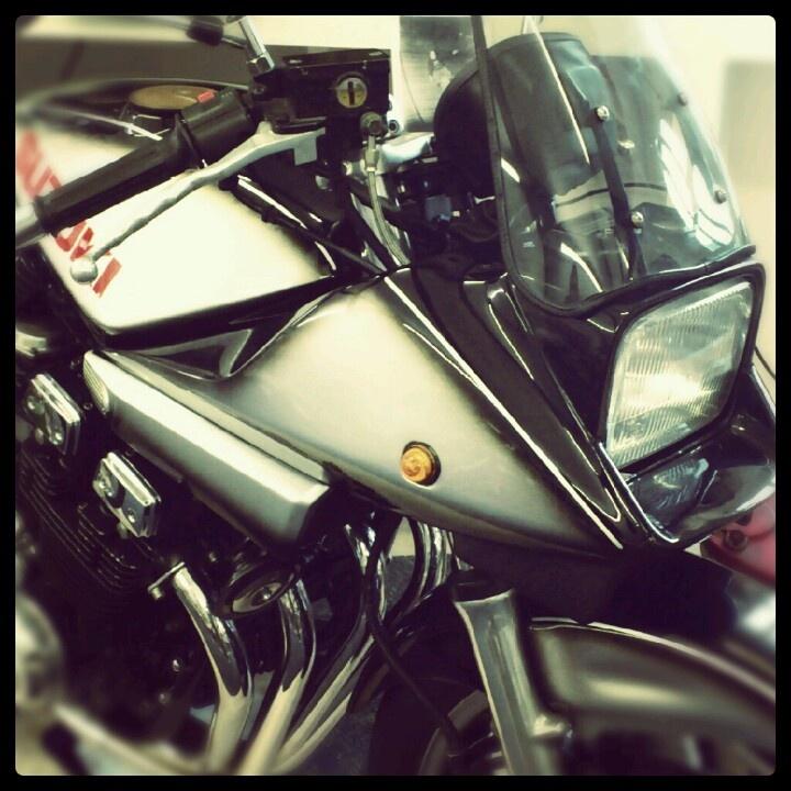 Classic Japanese motorcycle - Suzuki katana