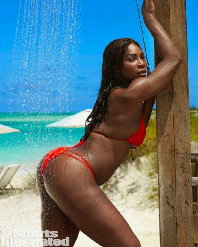 Serena Williams Strips Down for Sports Illustrated's Swimsuit Issue