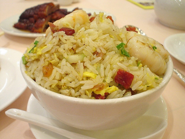 Flied rice  from Yung kee Restraunt @ Central in Hong Kong