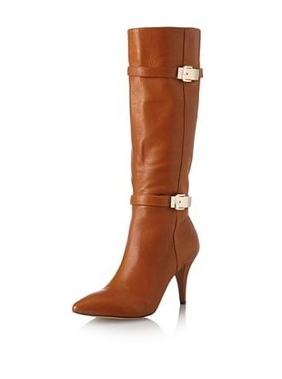 40% OFF Vince Camuto Women's Oboy High Heel Tall Pointed Toe Boot (Dark Amber)