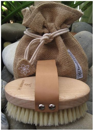 Dry Body Brushing - Dry Body Brushing is a powerful tool for reducing the appearance of cellulite, promoting lymphatic drainage and circulation whilst exfoliating and smoothing skin.  from peachyclean.com.au