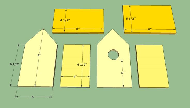How to build a bird house | HowToSpecialist - How to Build, Step by Step DIY Plans