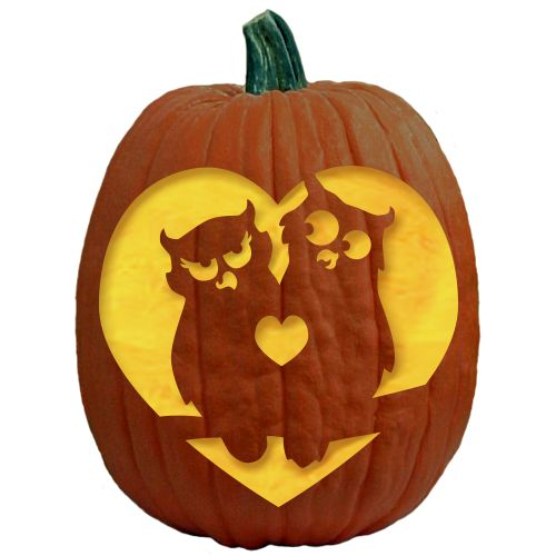 Best fall images on pinterest owl pumpkin stencil