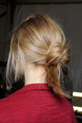 5 Genius Chignon Upgrades From The Man Behind Lea Michele's Hair