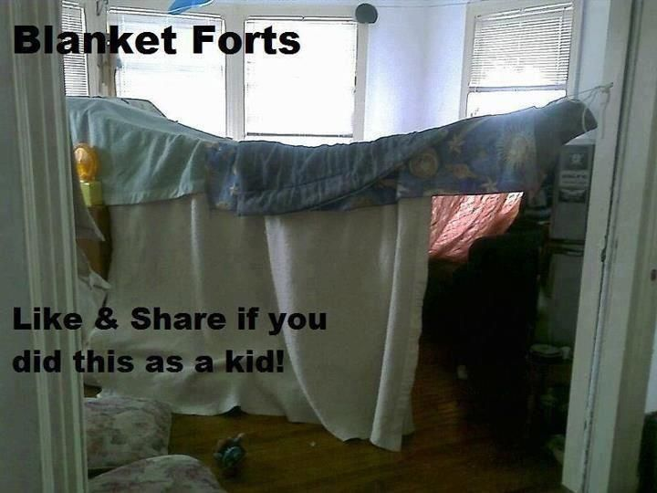 how to build a high blanket fort