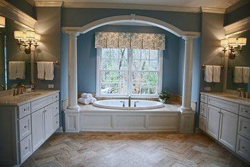 Casual Lake Retreat - traditional - Bathroom - Chicago - Geneva Cabinet Company