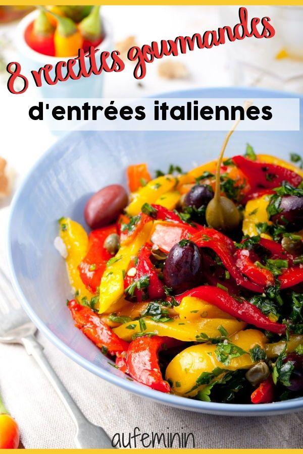 8 Recettes D Antipasti Comme En Italie Recette Italienne Cuisine Italienne Antipasti Italien