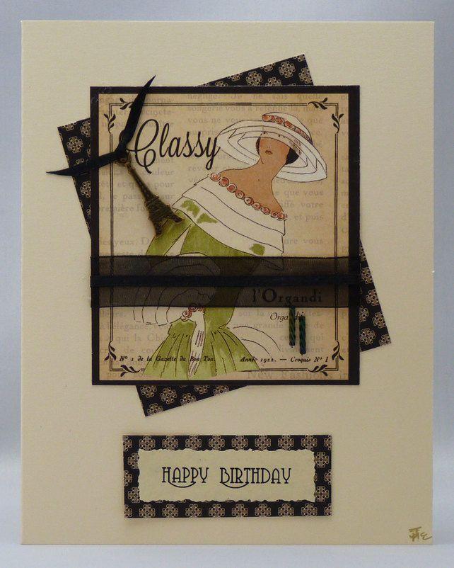Handmade Card - Couture No. 7 £3.00