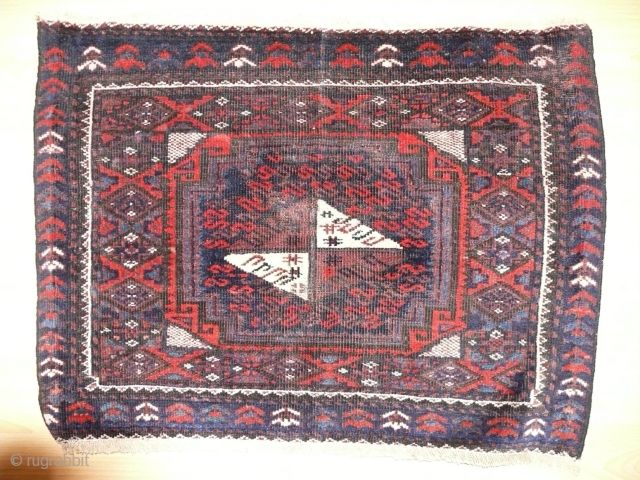 Very Unusual Balutsh Bagface It Was Worked Into A Pillow But Got Saved 19th C Great Colors Rugrabbit Com Carpet Grey Carpet Rugs