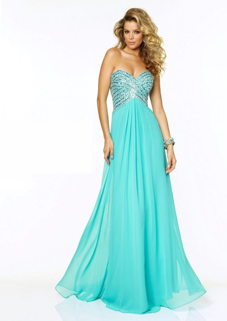 Wedding Gems: 10 Turquoise Bridesmaid Dresses