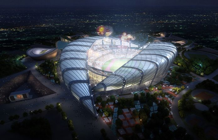 pan african games 2015 masterplan unveiled by IAD