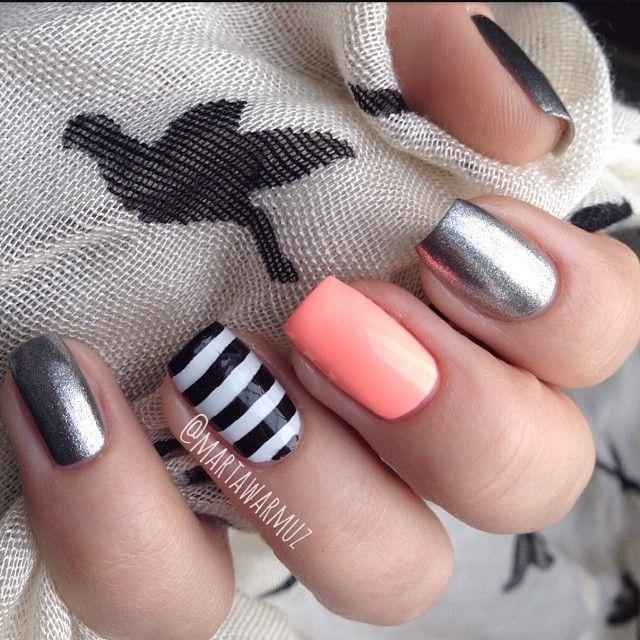 Instagram photo by martawarmuz #nail #nails #nailart