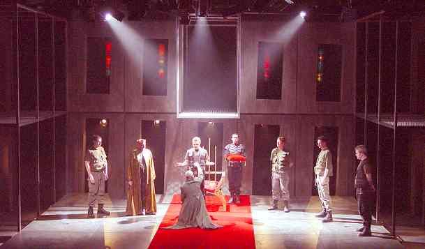Macbeth  Set Design Stuart Marshall