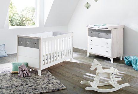 Pinolino Sparset Harper  #Babybett #Wickelkommode #Babyzimmer #Kinderzimmer #Galaxus
