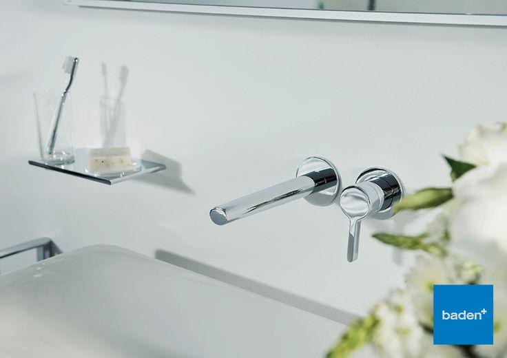 Deze prachtige inbouw kraan van Keuco past perfect bij de badkamermeubels uit de Edition 400 serie. Vraag er naar bij uw Baden+ badkamerspecialist.
