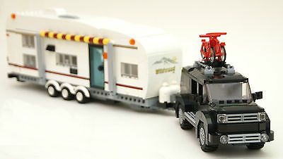 LEGO INSTRUCTIONS large camper quad bunk super slide trailer SUV/truck  NO BRICK