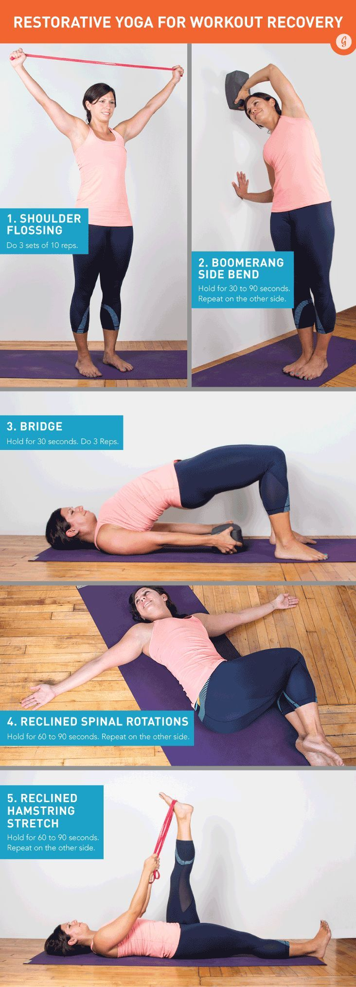 Sore and tight muscles after a workout? Stretch and recover with these quick moves #stretch #recover