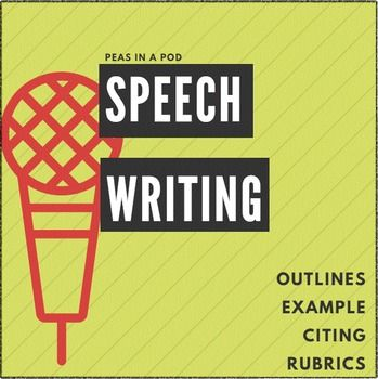 This resource provides structured worksheets to aid in speech preparation and public speaking.  It applies to informative, demonstrative, and persuasive speeches. Rubrics are included.Page 1: Speech Planning Outline (informational or demonstrative)         2: Example Speech         3: General Speech Body Outline (Main Points, Sub Points, Transitions)       4, 5: Persuasive Speech Outline         6: Citing Sources Instructions         7: Notecard Template / Source Citing Practice     8, 9…