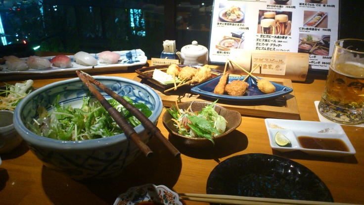 izakaya dinner ginza tokyo japan ginza tokyo. Black Bedroom Furniture Sets. Home Design Ideas