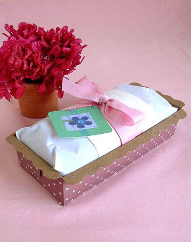bolo-de-maca + embalagem presente