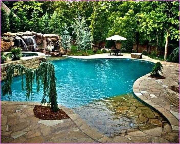 Swimming Pool Landscaping Design Inground Pool Landscaping Pool