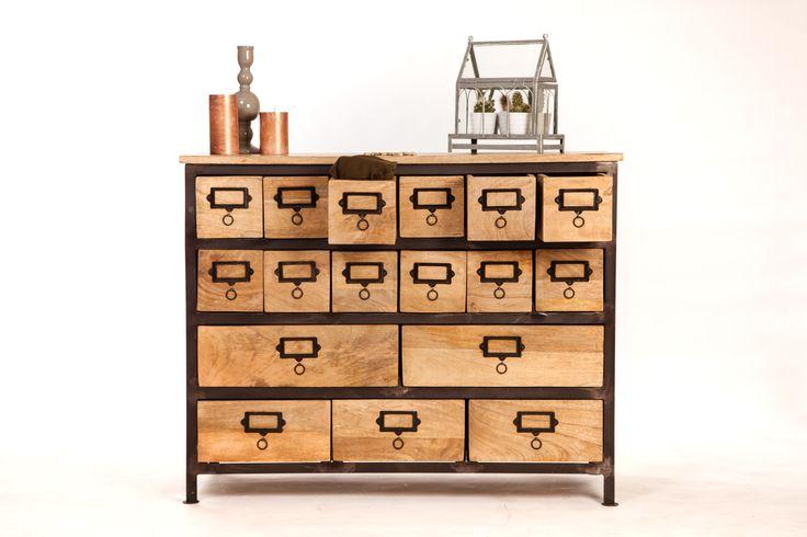 les 11 meilleures images du tableau meubles multi tiroirs sur pinterest tiroirs commodes et. Black Bedroom Furniture Sets. Home Design Ideas