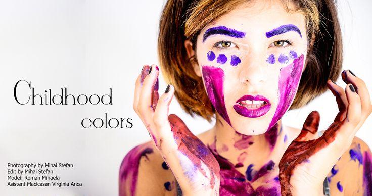 Childhood Colors Fashion/ Mihai Stefan Photography / Model: Mihaela Roman