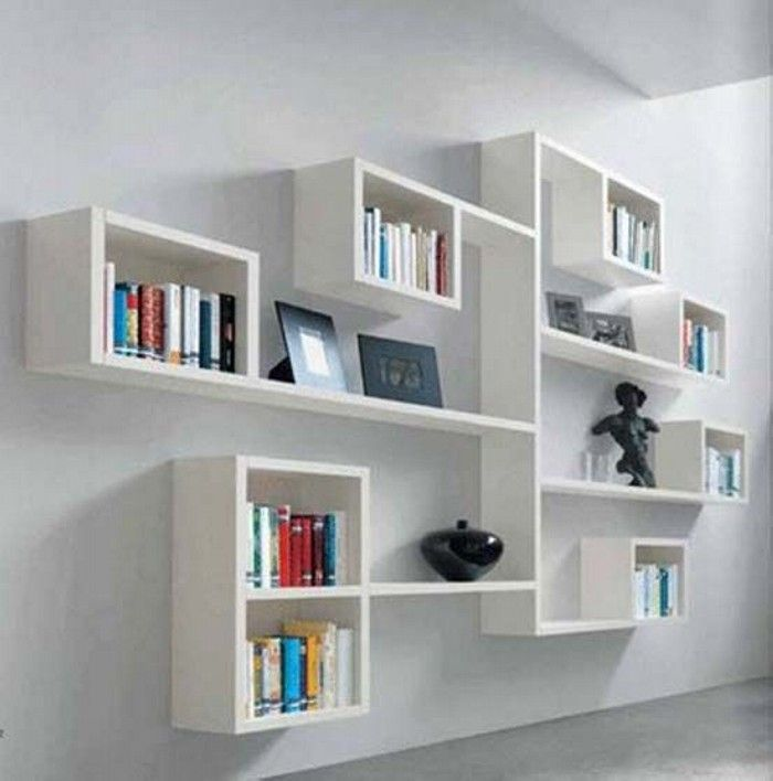 decorative modern wall shelves - Wall Modern Design