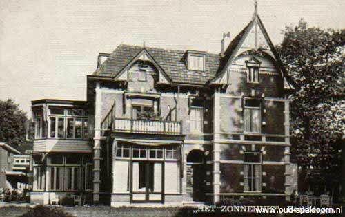 Bèkbargen / Beekbergen - 'Het Zonnehuis (1962)' → Hier deed mijn opa tot op hoge leeftijd vrijwilligerswerk: hij was immers prediker in de streek geweest.