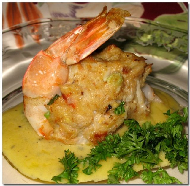 Heavenly Food with Diana: Baked Stuffed Shrimp